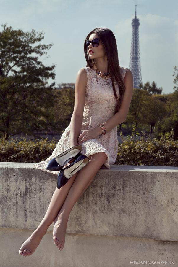 Sesja w Paryżu Fashion